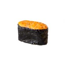 Запеченные суши с гребешком